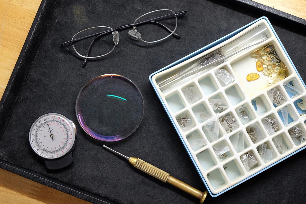 メガネの修理について